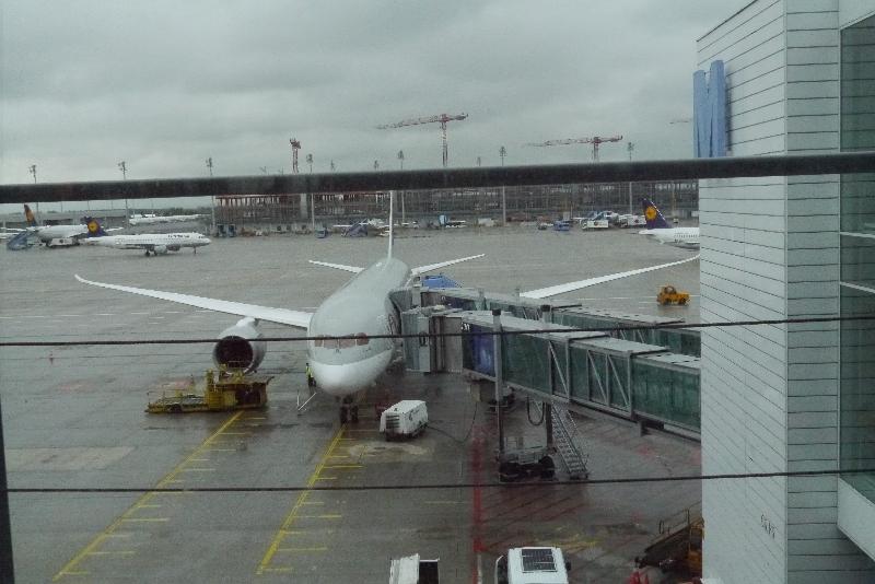Dreamliner zum Abflug bereit