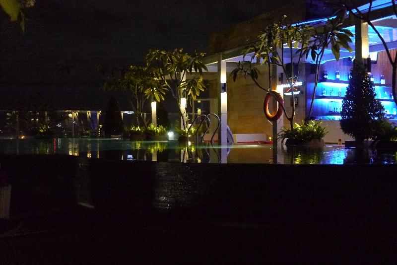 Dachterasse IBIS Style Hotel