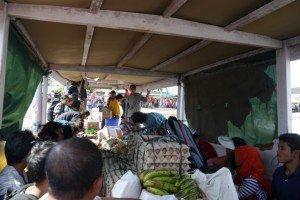Der Transport der Lebensmittel gehört genauso dazu wie jener der Touristen.