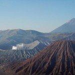 Viele aktive Vulkane gibt es noch auf Java!