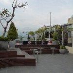 Dachterasse unseres Ziels. Ibis Style Hotel Yogjakarta